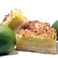 Coconut Key Lime Bars